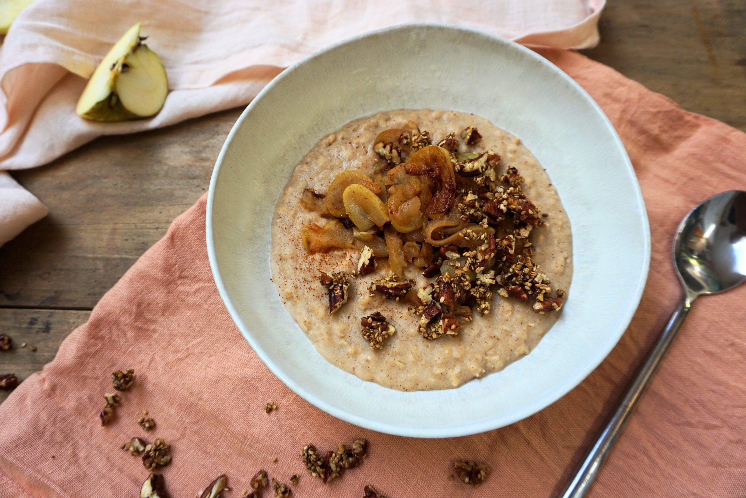 wärmendes Porridge